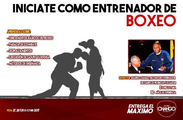 Lee más sobre el artículo Curso Para Entrenadores De Boxeo Nivel I